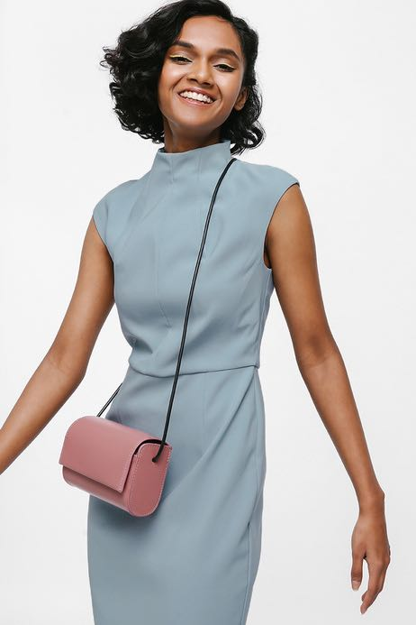 914bec1f7d993 Love Bonito - Danamarie High Neck Midi Dress [BNWT], Women's Fashion ...