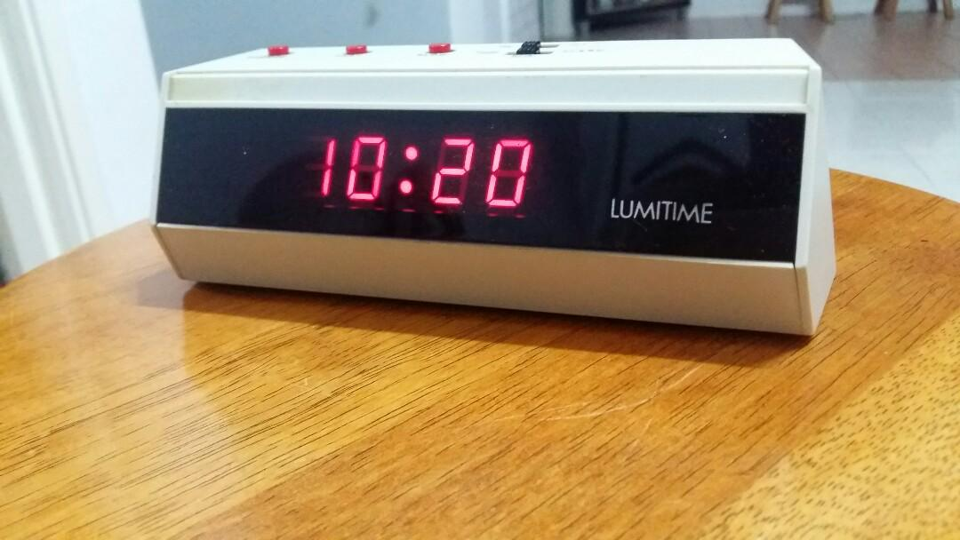 Lumitime  Digital Alarm Clock