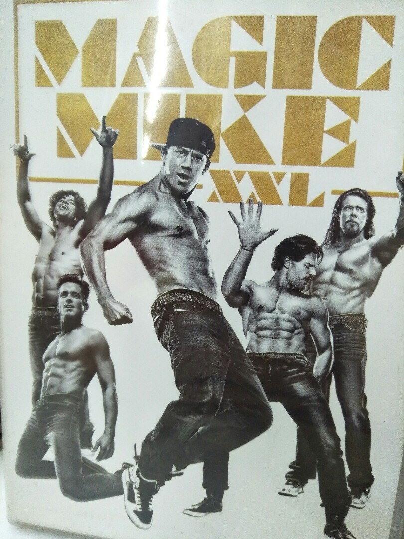 Magic Mike XXL English movie DVD