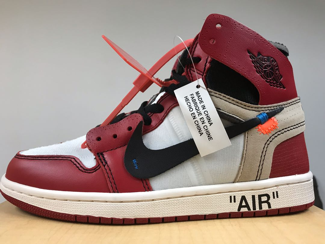 ba1047e67090bb Nike Air Jordan 1 Off White