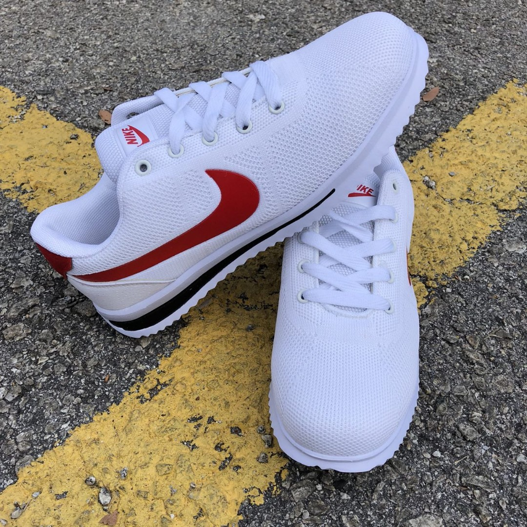 new arrival 48f0c d3bb3 Nike Cortez White Red