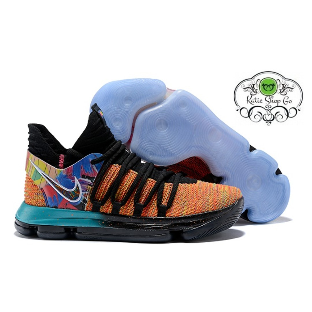 5026eb45802b Nike KD 10 BASKETBALL SHOES - KD 10 What The