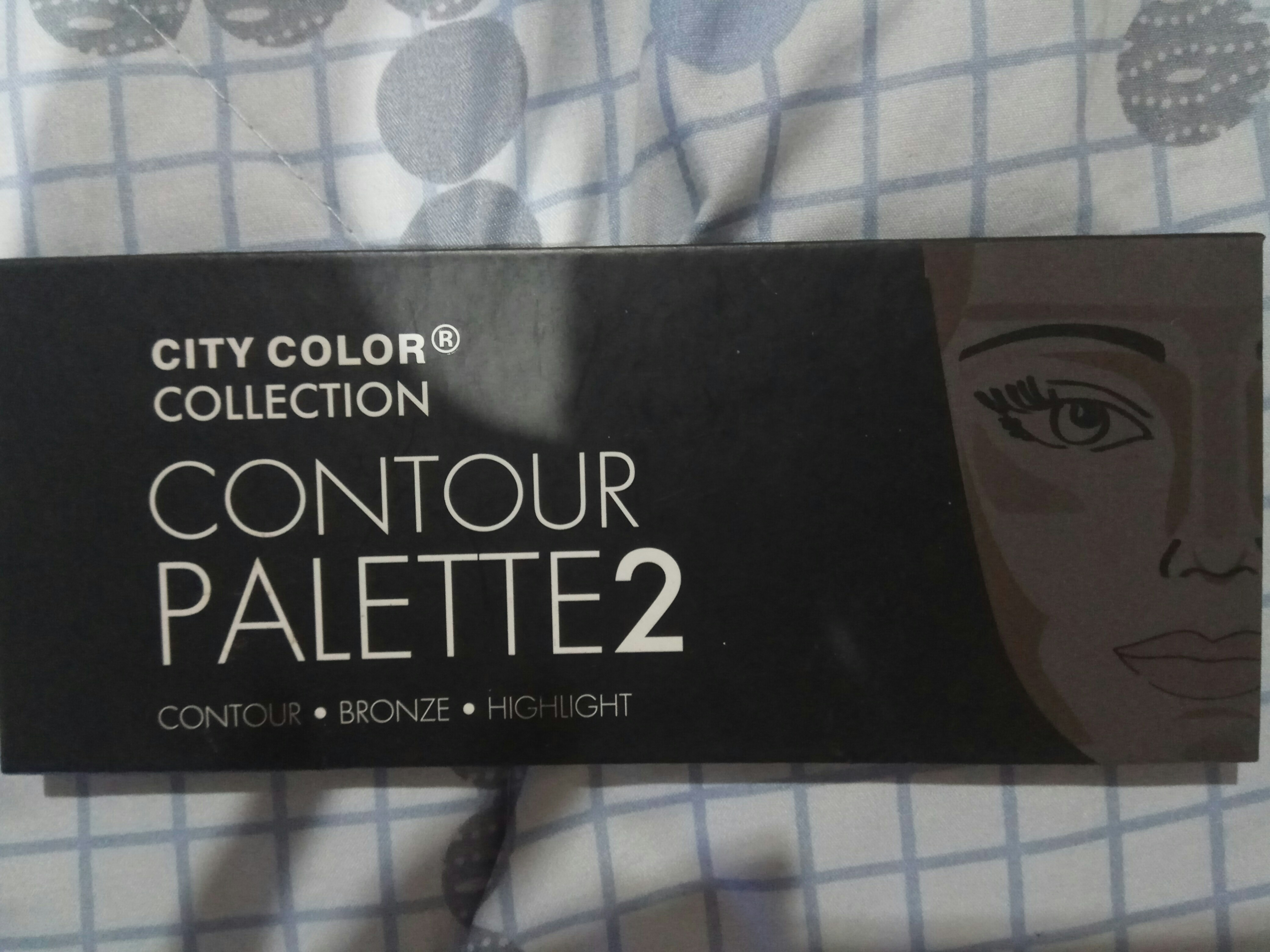 Preloved Murah City Color Contour Palette 2 Health Beauty Makeup On Carousell