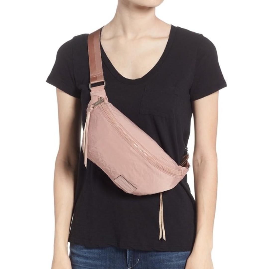 56d3b79c688 Rebecca Minkoff Nylon Belt Bag