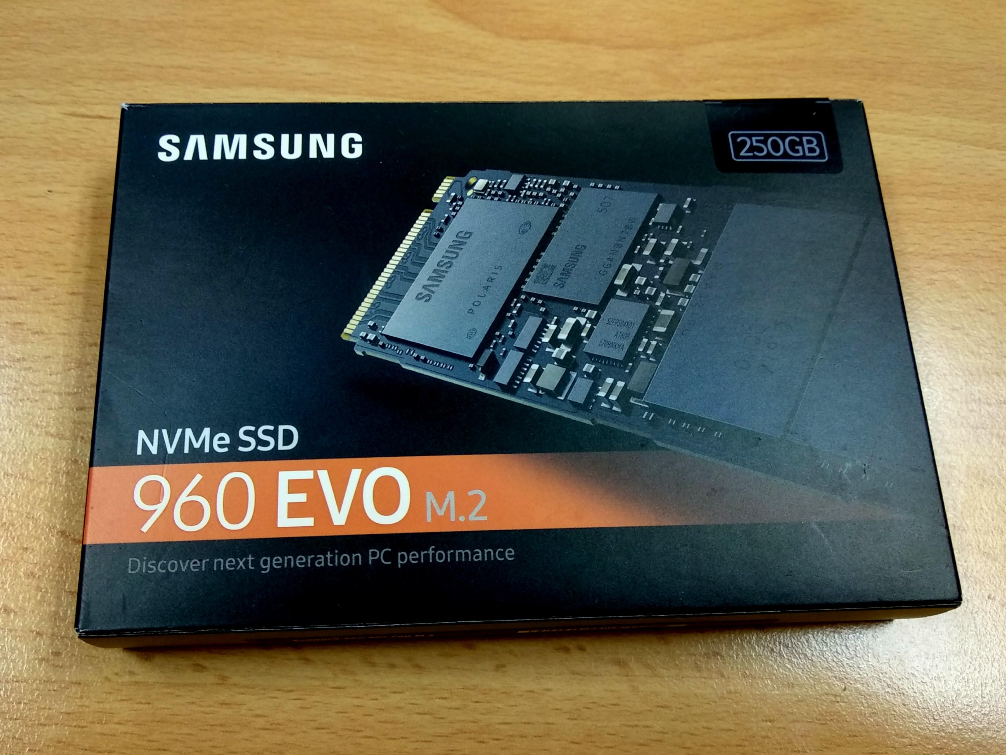 Samsung 960 Evo M2 Nvme Ssd 250gb Electronics Computers On Carousell