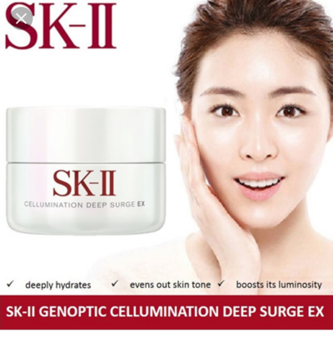 Sk Ii Cellumination Deep Surge Ex 15g 30g Daftar Update Harga 15 Gr 1 Shopee Source Photo
