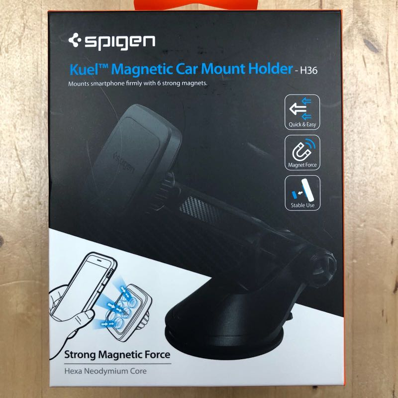 newest a27b4 630be Spigen Kuel® H36 Signature Car Mount Holder