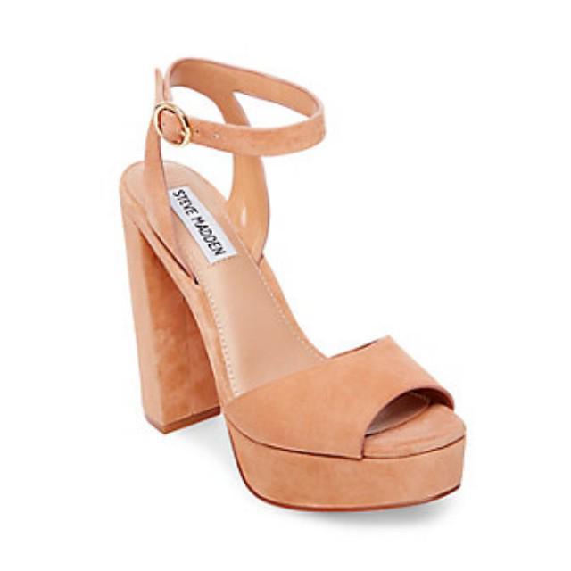a6f9db62f14 Steve Madden Heels nude heels brand new, Women's Fashion, Shoes ...
