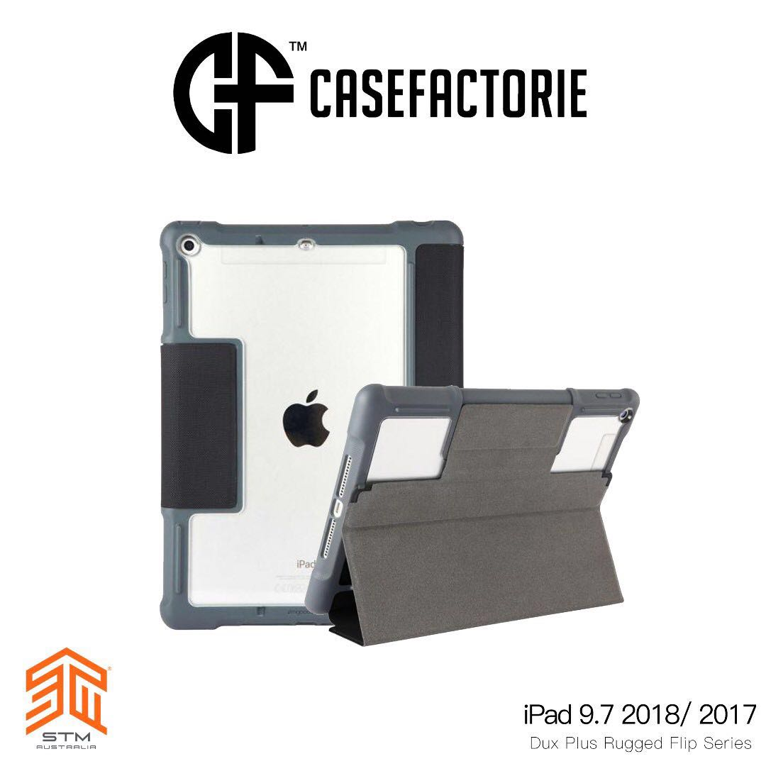 Stm Dux Plus Rugged Case For Ipad 9 7 2018 2017 Mobile