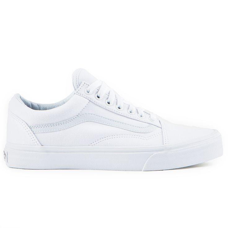 49e25316b5 Vans Old Skool True White