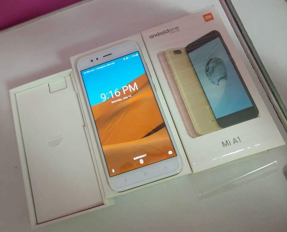 Xiaomi Mi A1 64gb 4gb Global Rom Gold 4 months old with