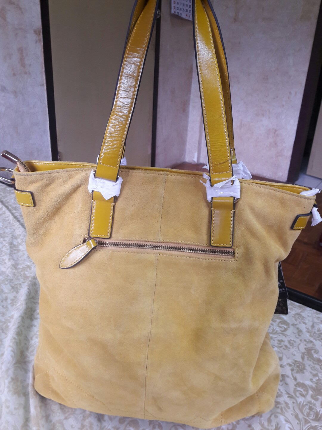 YING WEI MEI Genuine Leather 7, Women's Fashion, Bags & Wallets on Carousell
