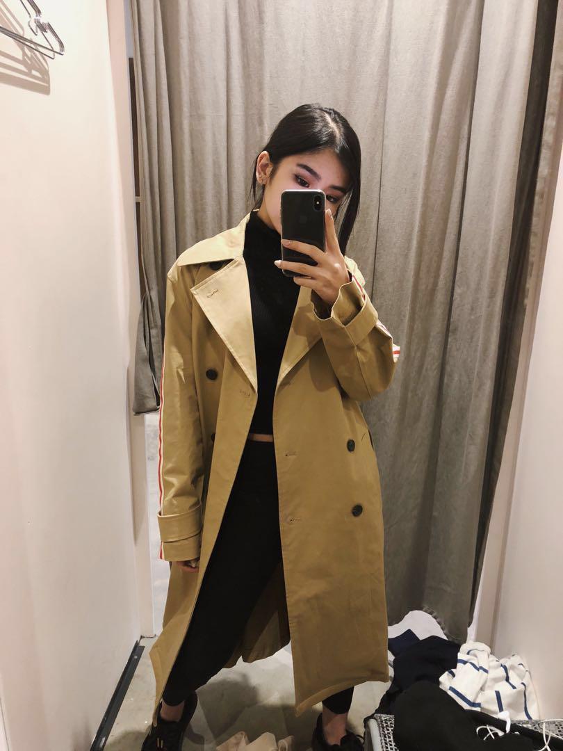 Zara Camel Trench Coat