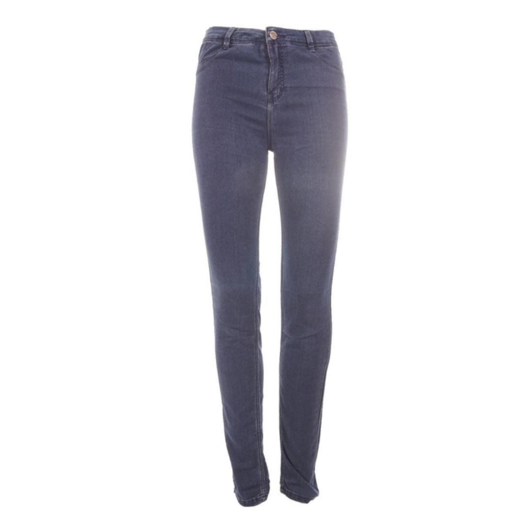 9136bb47 Zara High Waist Stretch Jeans, Women's Fashion, Clothes, Bottoms on ...
