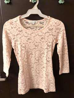 Forever 21 see thru size small