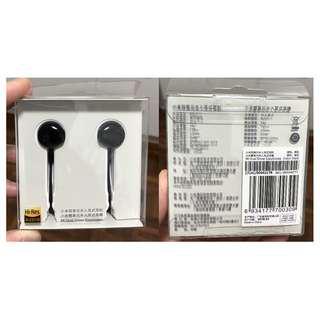 小米雙單元半入耳式耳機(黑色) 全新