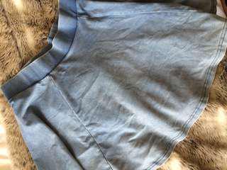 Denim Style Skater Skirt - 6