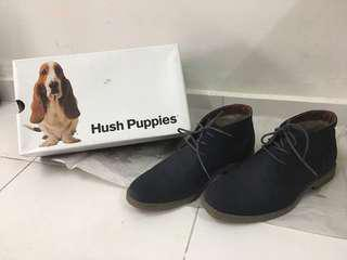 hush puppies genuine leather shoes