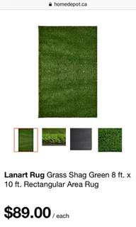 Rectangular Grass Rug
