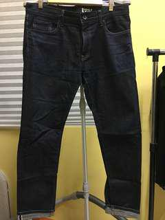 Uniqlo selvage W33 slim fit denim jeans