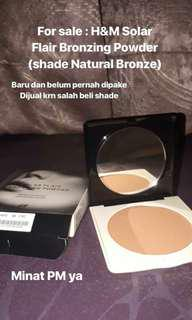 H&M Flair Solar Bronzing Powder (shade Natural Bronze)