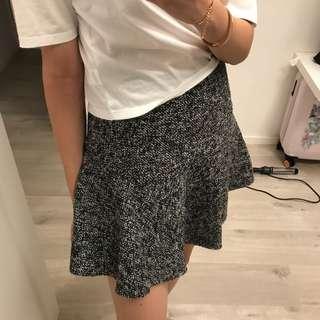 Korea tweed skirt