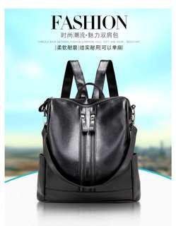 3 way (sling, backpack and handbag) korean styled apparently
