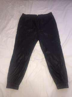 Urban Outfitters Leather Joggers