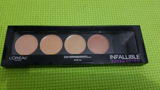 Loreal infallible concealing dan contour new