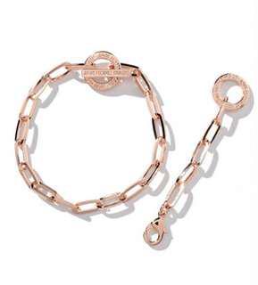 全新 Jam Home Made Rose Gold Bracelet & Anklet