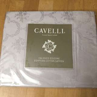 ~BNIP~ CAVELLI Luxury Sateen Bolster Case (Lilac)