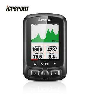 IGPSPORT IGS 618 ANT+ GPS Cycling Computer 無線智能ANT+ GPS單碼錶-送新款S80碼錶延伸座