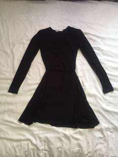 Flowy Wrap-Around Dress