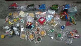 全新 一大堆 扭蛋玩具 全部$50