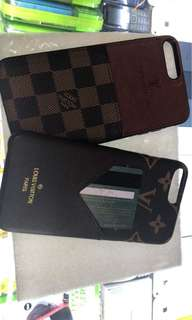 LV iphone case card holder