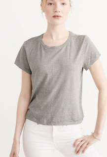 Abercrombie & Fitch grey tee