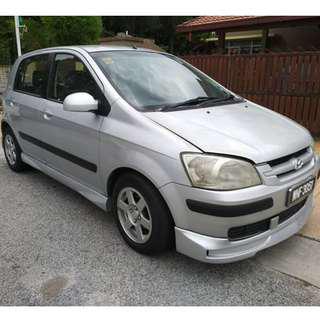 Hyundai Getz 1.4 (A) 2005