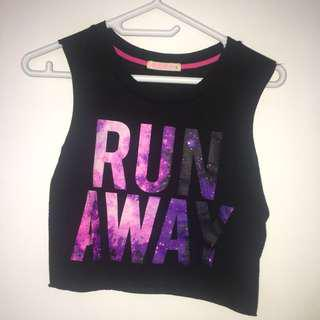 Girls Crop Top size Small