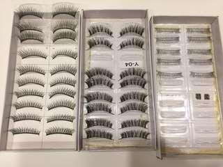 (買任何商品就送)假睫毛8盒+ 益若翼透明梗一副