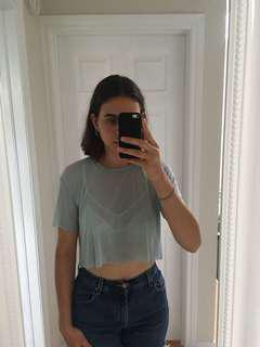 Aritzia x Wilfred crop top