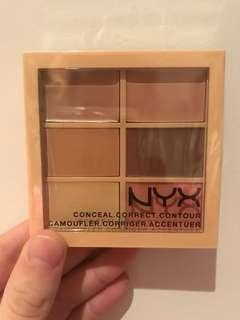 NYX conceal correct contour palette