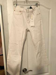 ZARA - White Jeans (US 6)