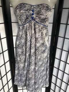 Beautiful silk cocktail dress