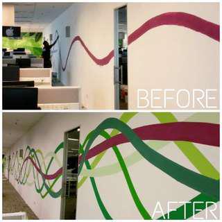 Mural Dinding / Mural wall
