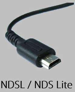 Nintendo NDS lite charger. (NDSI and PSP also available)