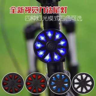 Diamond headlight/rear light for E scooters/Bicycle /Scooter accessory
