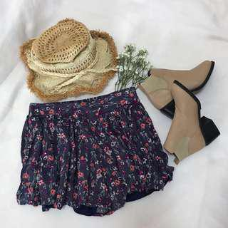 Dainty Floral Shorts