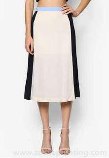 🚚 BYSI contrast colour skirt