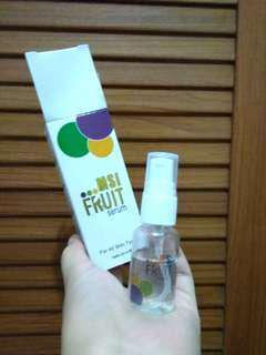 msi fruit serum & bamboo charcoal soap