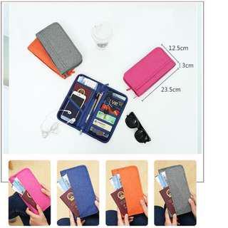 Passport Bag Tas Passport Travel Wallet Card ATM Dompet Water Proof